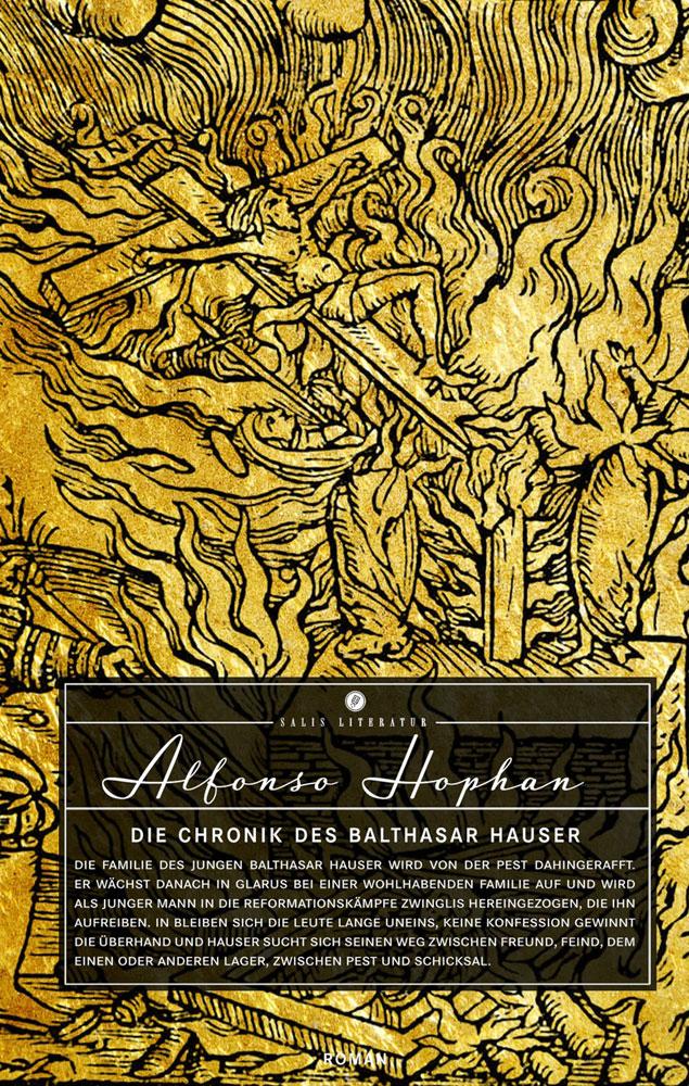 Die Chronik des Balthasar Hauser als Buch von Alfonso Hophan