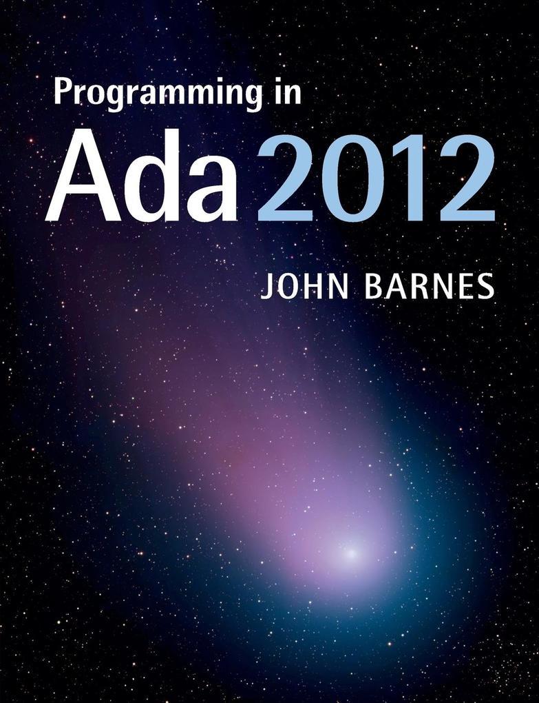Programming in Ada 2012 als Taschenbuch von John Barnes