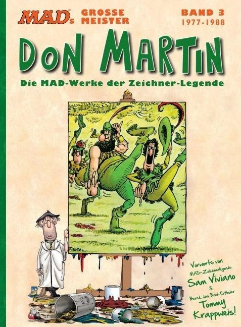 MADs große Meister als Buch von Don Martin