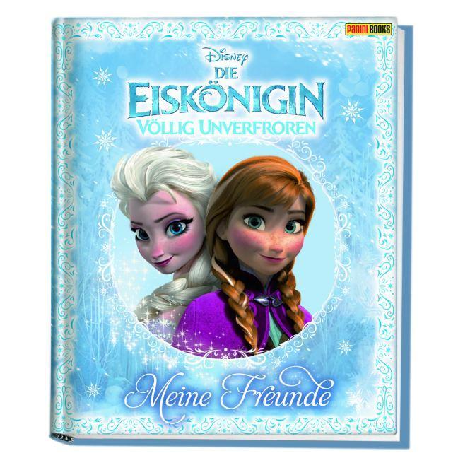Disney Die Eiskönigin: Völlig unverfroren Freundebuch als Buch von