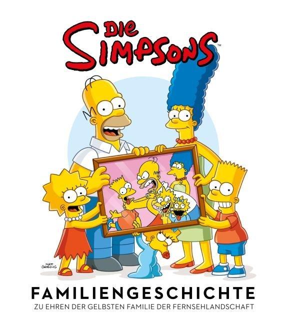 Die Simpsons Familiengeschichte als Buch von Matt Groening