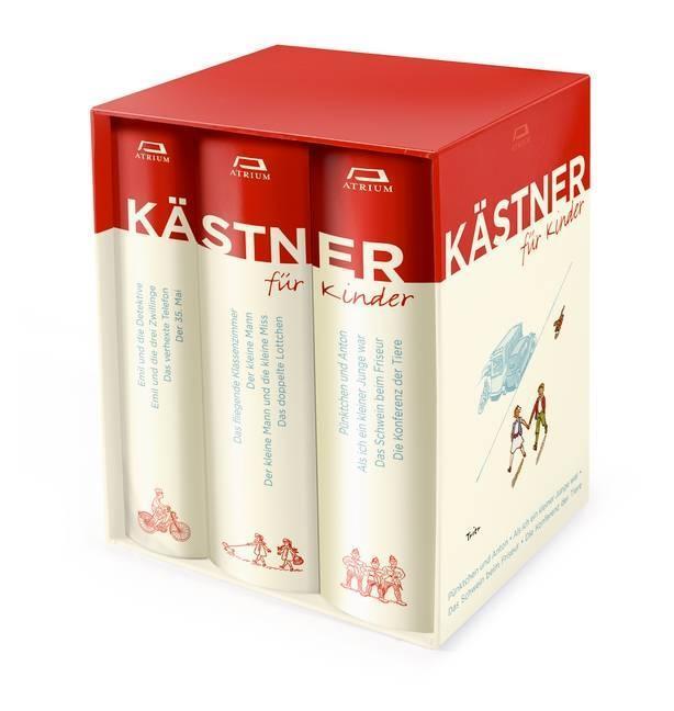 Kästner für Kinder 3 Bände als Buch von Erich Kästner
