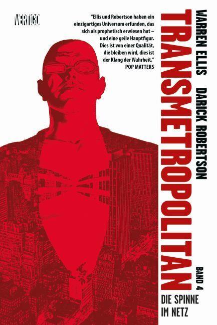 Transmetropolitan 04 - Die Spinne im Netz als Buch von Warren Ellis, Darick Robertson