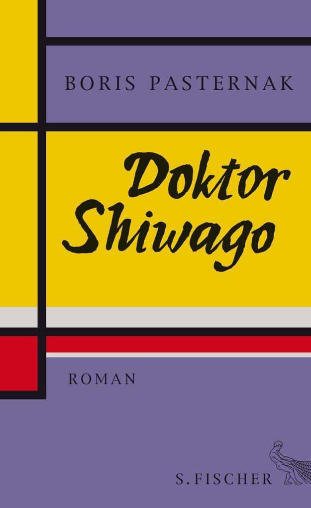 Doktor Shiwago als Buch von Boris Pasternak