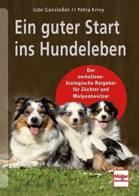 Ein guter Start ins Hundeleben als Buch von Udo Gansloßer, Petra Krivy