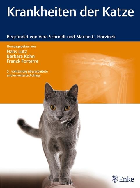 Krankheiten der Katze als Buch von