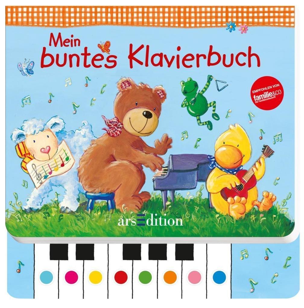 Mein buntes Klavierbuch als Buch von