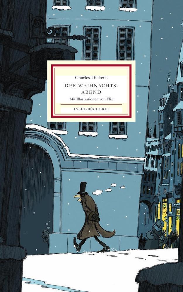 Der Weihnachtsabend als Buch von Charles Dickens
