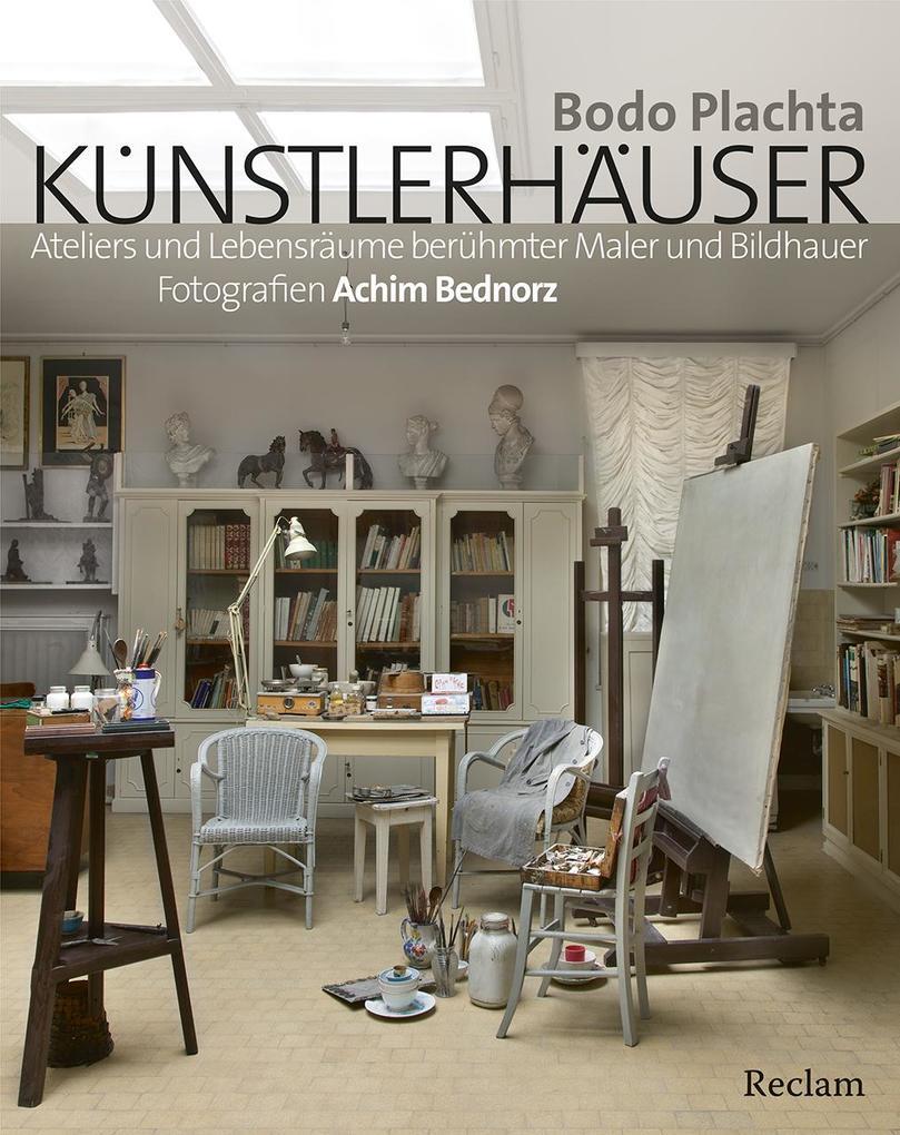 Künstlerhäuser als Buch von Bodo Plachta