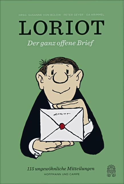 Der ganz offene Brief als Buch von Loriot