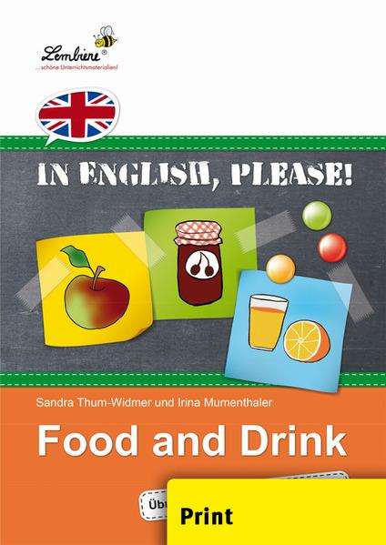 In English, please! Food and Drink (PR) als Buch von Sandra Thum-Widmer, Irina Mumenthaler