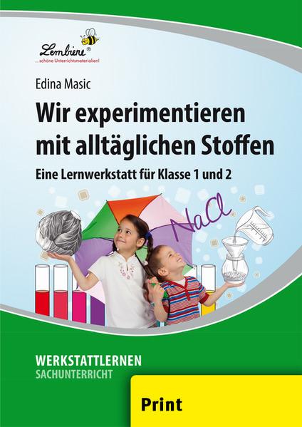 Wir experimentieren mit alltäglichen Stoffen (PR) als Buch von Edina Masic