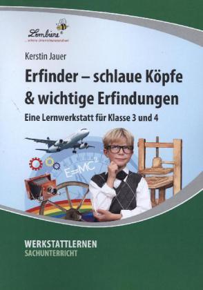 Erfinder - kluge Köpfe & wichtige Erfindungen (PR) als Buch von Kerstin Jauer