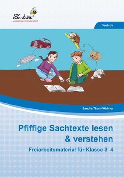 Pfiffige Sachtexte lesen & verstehen (PR) als Buch von Sandra Thum-Widmer
