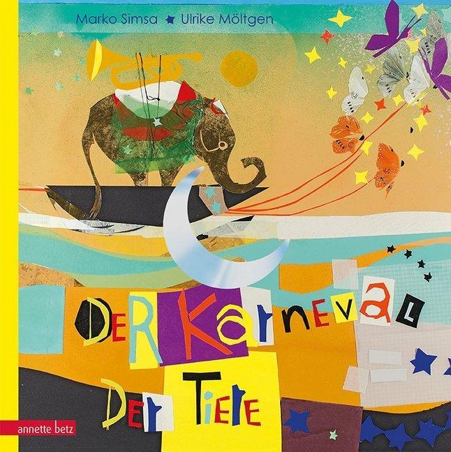 Der Karneval der Tiere als Buch von Marko Simsa
