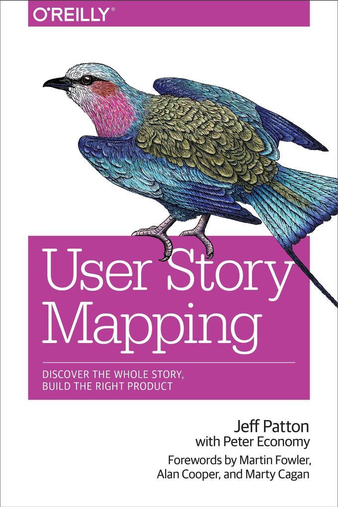 User Story Mapping als Buch von Jeff Patton