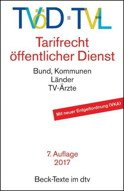 TVöD, TV-L als Taschenbuch von