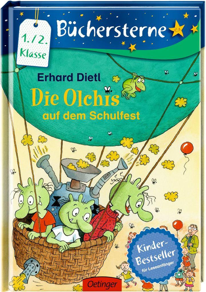 Die Olchis auf dem Schulfest als Buch von Erhard Dietl