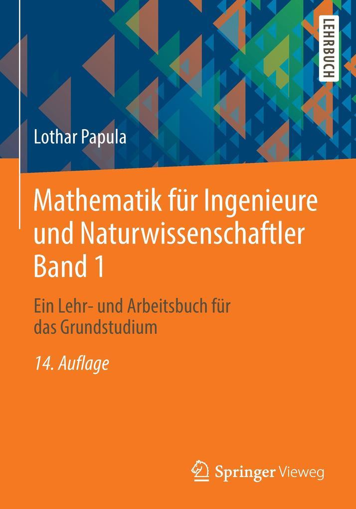 Mathematik für Ingenieure und Naturwissenschaftler 01 als Buch von Lothar Papula
