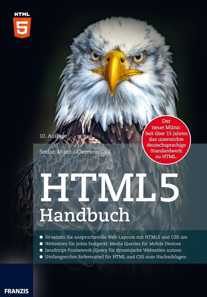 HTML5 Handbuch als eBook von Stefan Münz, Cleme...