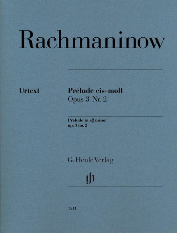 Prélude cis-moll op. 3 Nr. 2 als Buch von Sergej Rachmaninow
