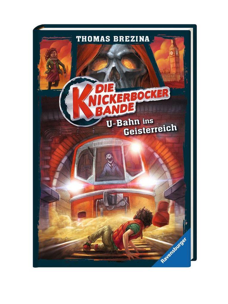 Die Knickerbocker-Bande 02: U-Bahn ins Geisterreich als Buch von Thomas Brezina