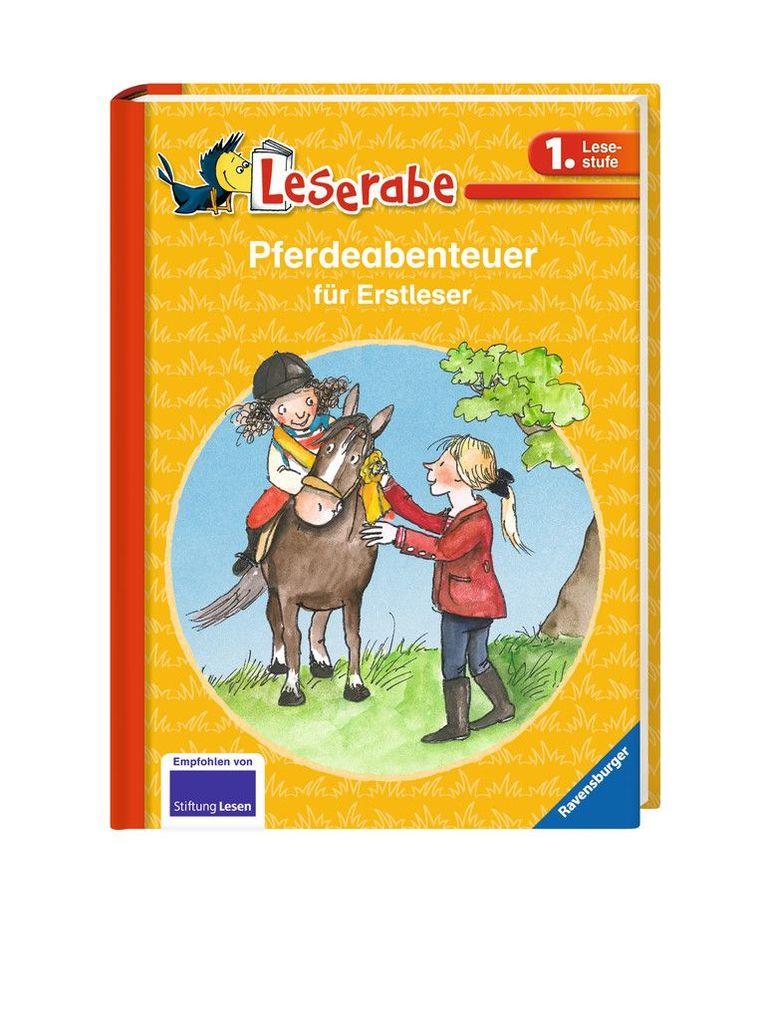 Pferdeabenteuer für Erstleser als Buch von Judith Allert, Cornelia Neudert