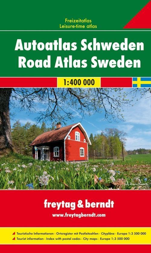 Schweden Autoatlas 1 : 400.000 als Buch von