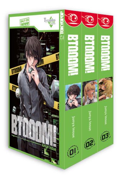 BTOOOM! Box 01 als Buch von Junya Inoue