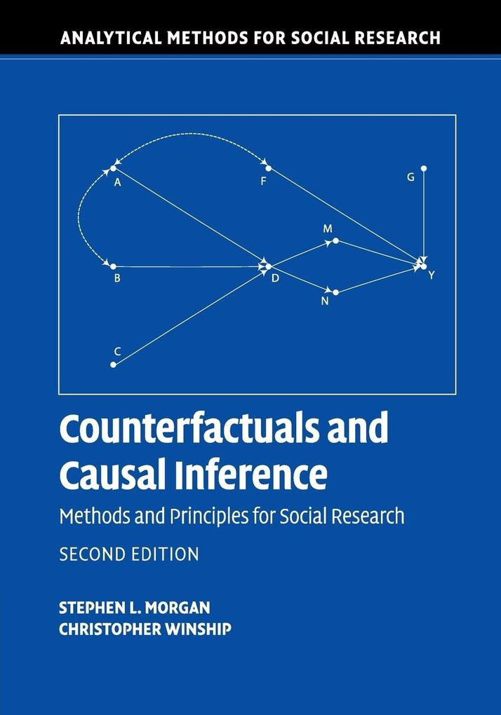 Counterfactuals and Causal Inference als Buch von Stephen L. Morgan, Christopher Winship
