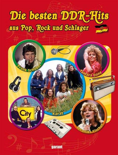 DDR Hits aus Pop, Rock und Schlager als Buch von