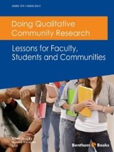 Doing Qualitative Community Research: Lessons f...