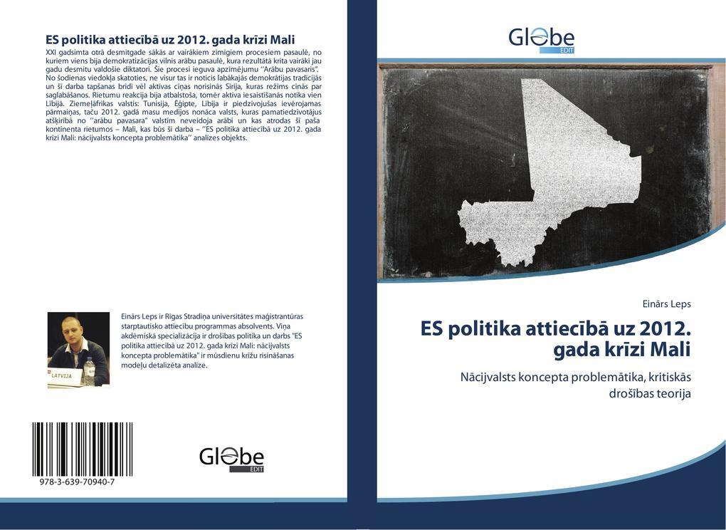 ES politika attieciba uz 2012. gada krizi Mali als Buch von Einars Leps