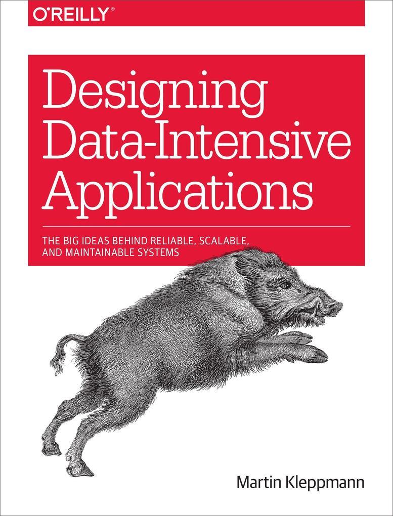 Designing Data-Intensive Applications als Buch von Martin Kleppmann
