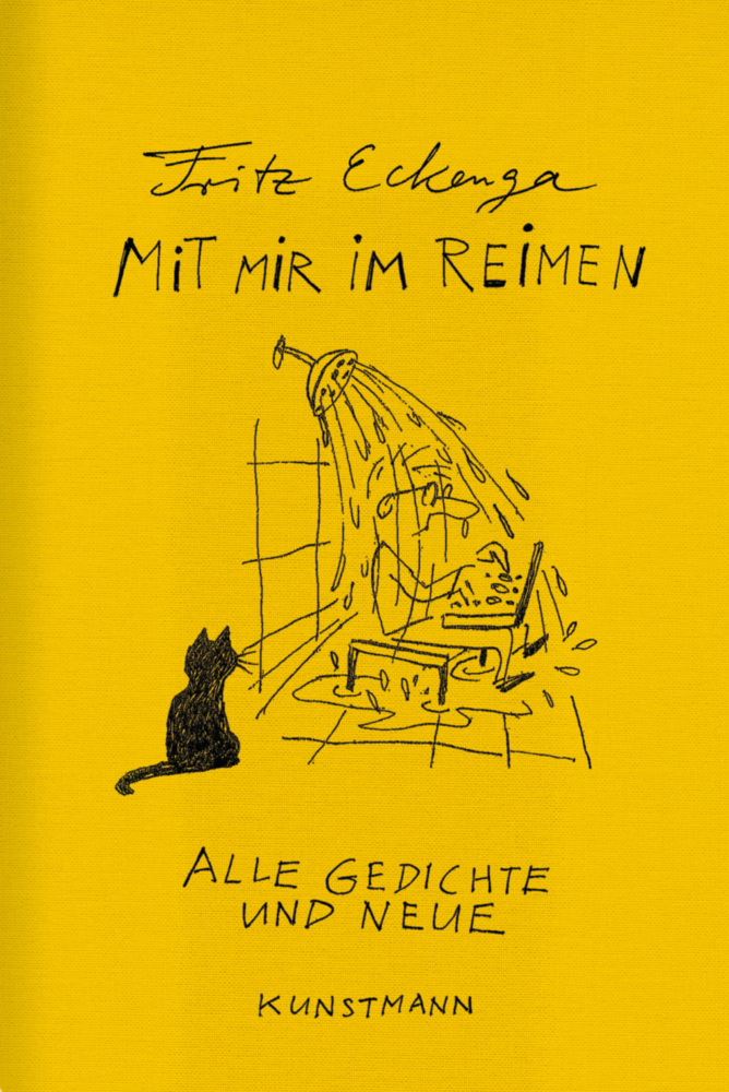 Mit mir im Reimen als Buch von Fritz Eckenga