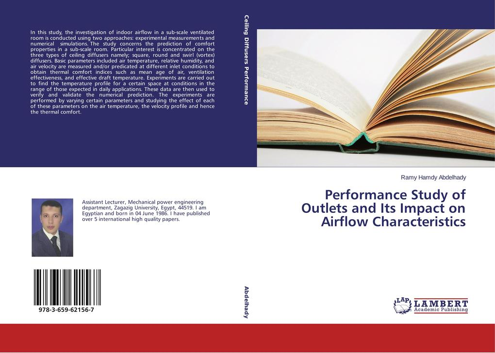 Performance Study of Outlets and Its Impact on Airflow Characteristics als Buch von Ramy Hamdy Abdelhady
