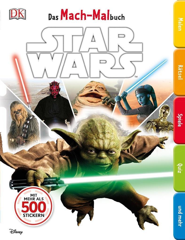 Das Mach-Malbuch. Star Wars(TM) als Buch von
