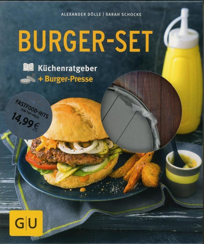 Burger-Set als Buch von Alexander Dölle, Sarah Schocke