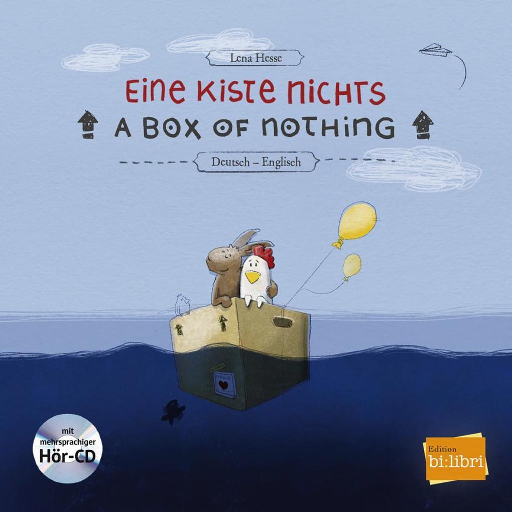 Eine Kiste Nichts. Kinderbuch Deutsch-Englisch als Buch von Lena Hesse