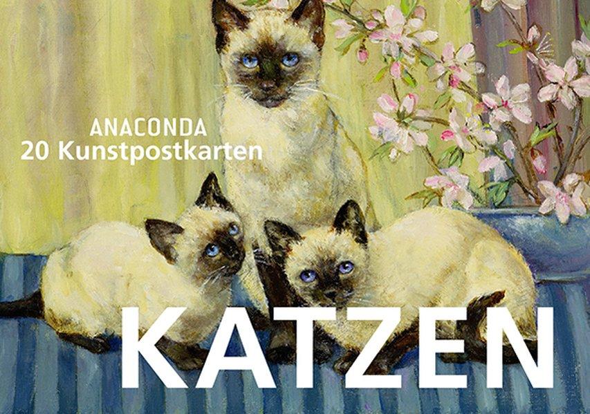 Postkartenbuch Katzen als Buch von