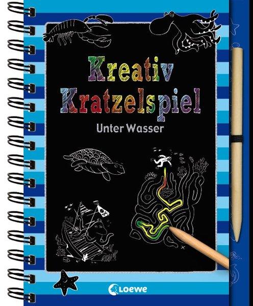 Kreativ-Kratzelspiel: Unter Wasser als Buch von