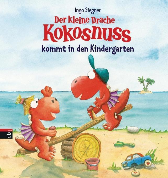 Der kleine Drache Kokosnuss kommt in den Kindergarten als Buch von Ingo Siegner