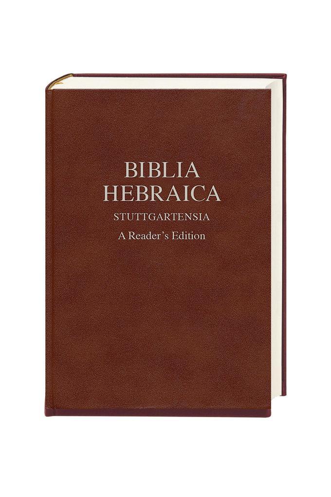 Biblia Hebraica Stuttgartensia als Buch von