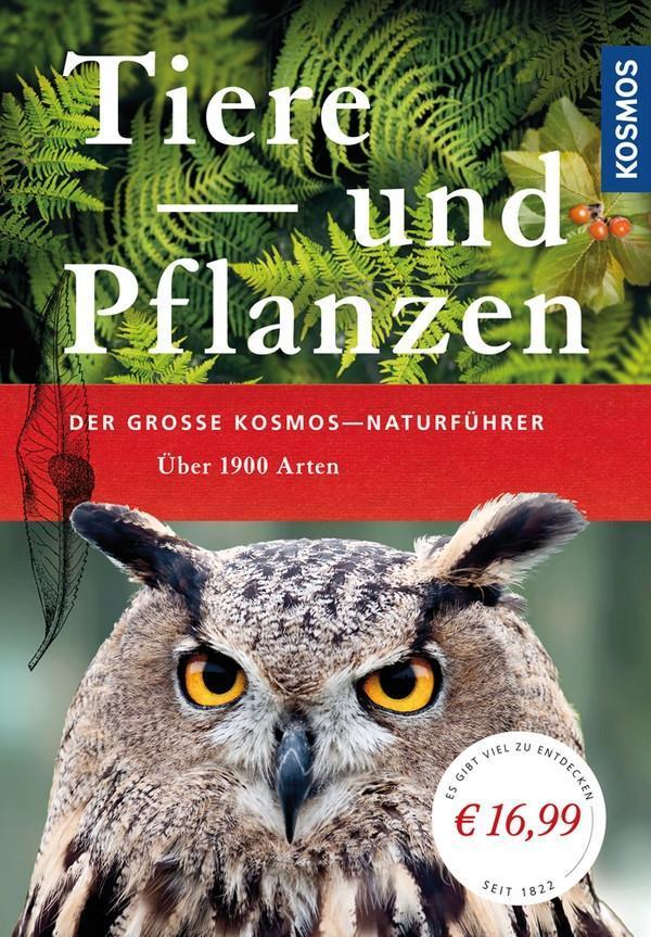 Der große Kosmos-Naturführer Tiere und Pflanzen als Buch von
