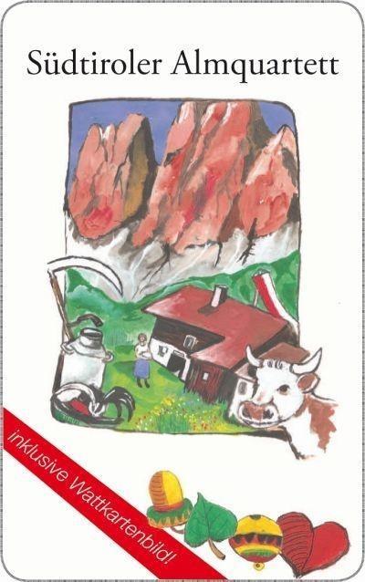 Südtiroler Almquartett als Buch von Christian Yeti Beirer, Peter Wallgram