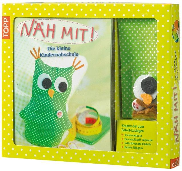 Kreativ-Set Näh Mit! als Buch von Ina Andresen, Brit Kipcke