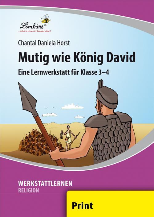 Mutig wie König David (PR) als Buch von Chantal Daniela Horst
