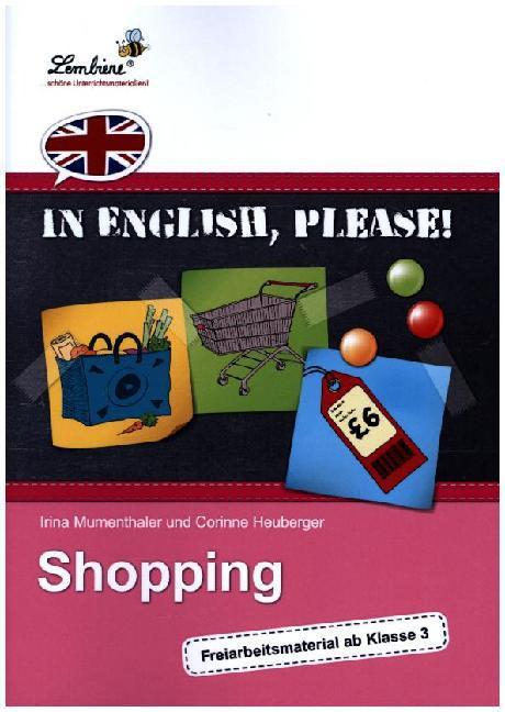 In English, please! Shopping (PR) als Buch von Irina Mumenthaler, Corinne Heuberger