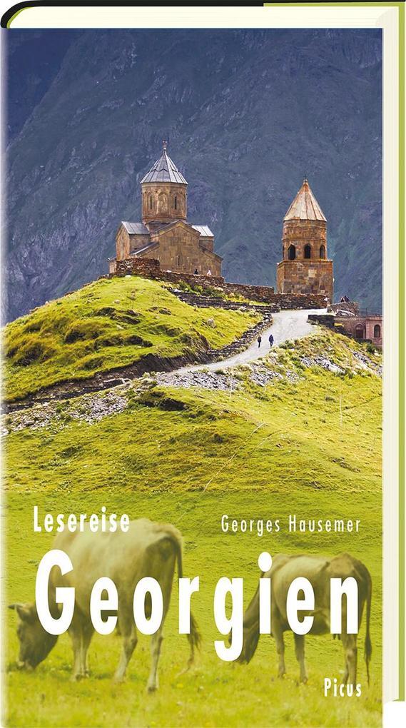 Lesereise Georgien als Buch von Georges Hausemer