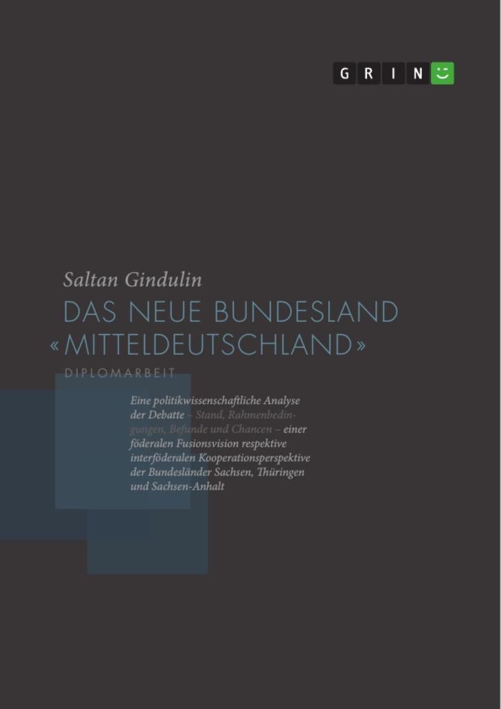 Das neue Bundesland Mitteldeutschland als eBook...